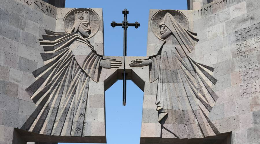 Particolare del Mausoleo del Genocidio