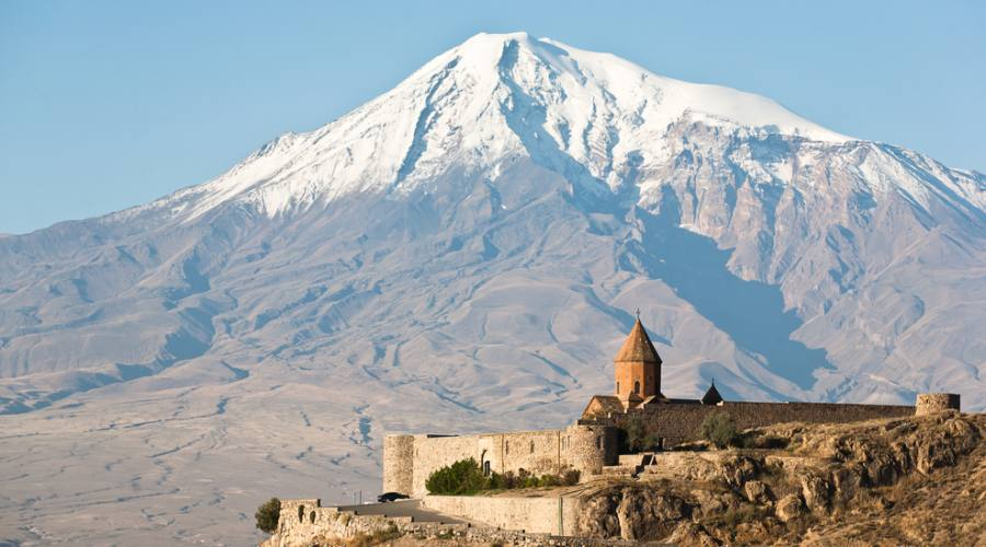 Khor Virap e il monte Ararat
