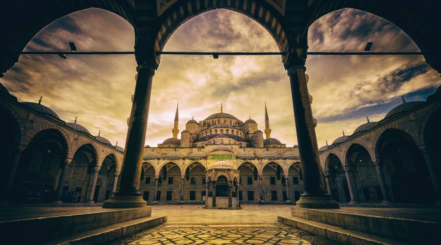 La moschea del Sultano Ahmed