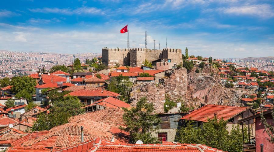 il castello dell'Ankara