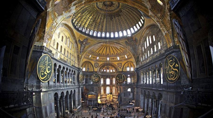 interni chiesa di santa sofia