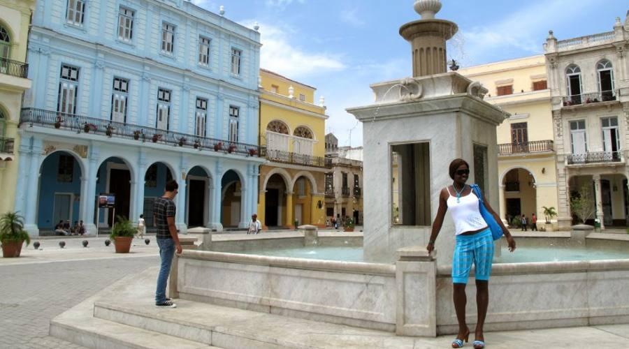 Cuba, piazza
