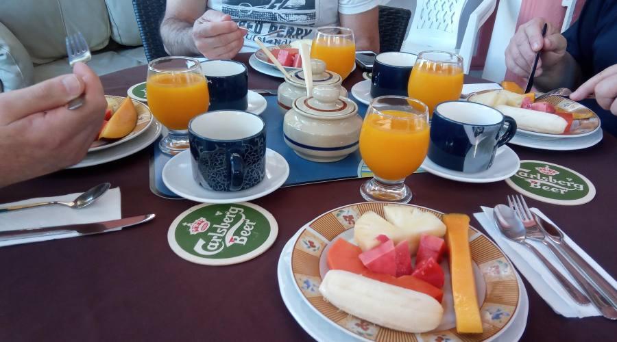 L'Havana, Colazione in Casa Particular