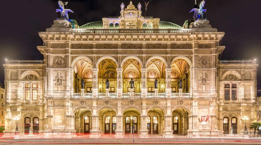 Vienna, l'Opera di Stato