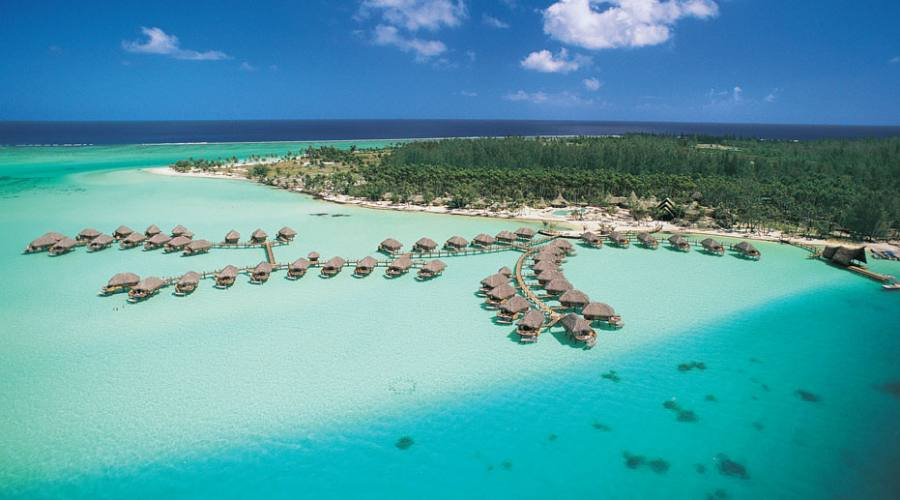 Bora Bora Pearl Beach Resort & Spa, vista aerea
