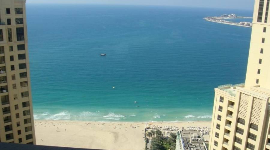 Spiaggia vista dall'hotel