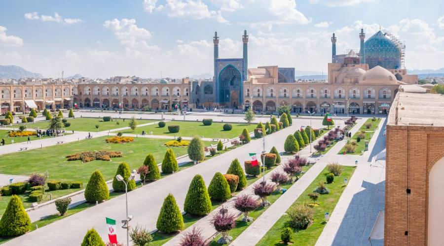 Piazza Esfahan