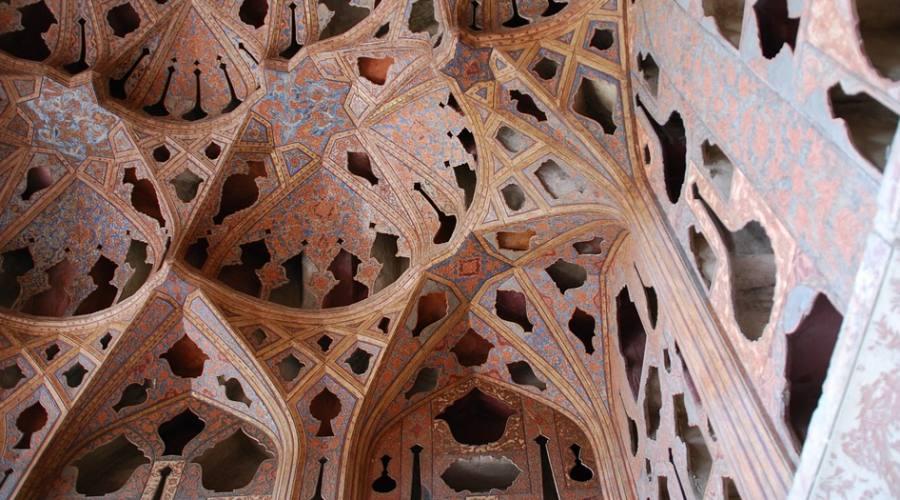nella moschea di Yazd