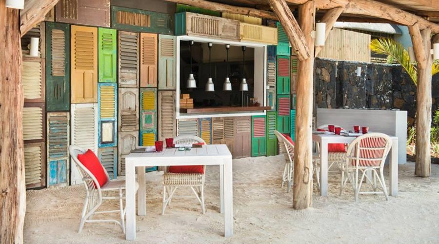 Il Bar Lor Disab sulla spiaggia