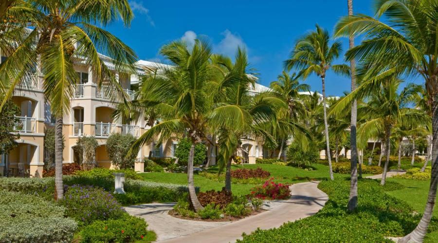 I bellissimi giardini del resort