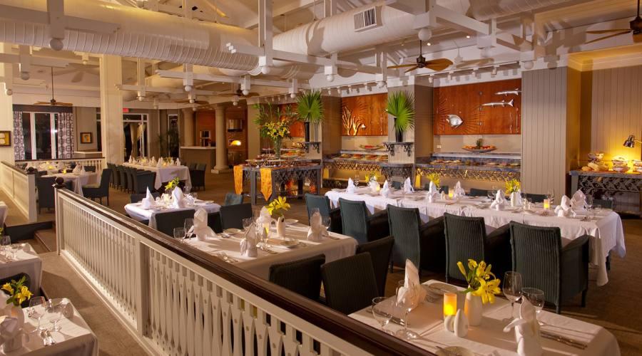 """Il ristorante """"Bahama Bay"""""""