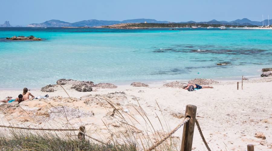 spiaggia Es Pujols