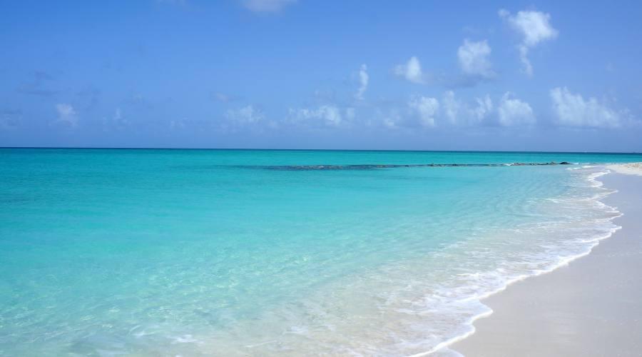 L'abbagliante sabbia bianca di Turks&Caicos