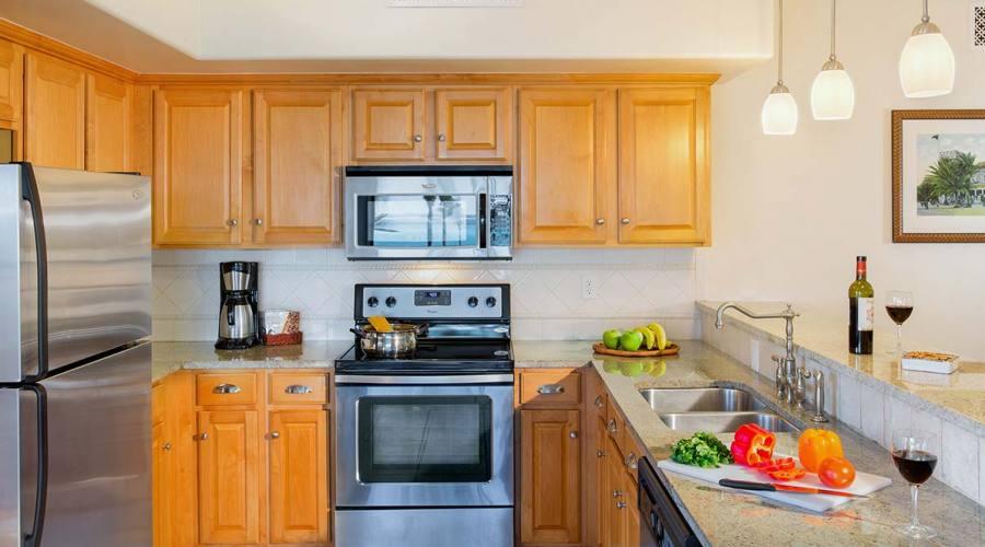 One Bedroom Suite, cucina