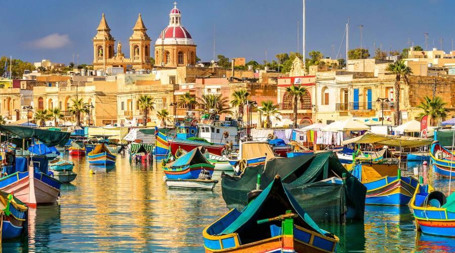1° giorno: arrivo a Malta