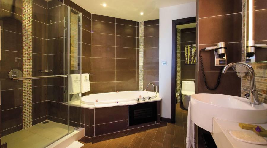 Il bagno della camera superior