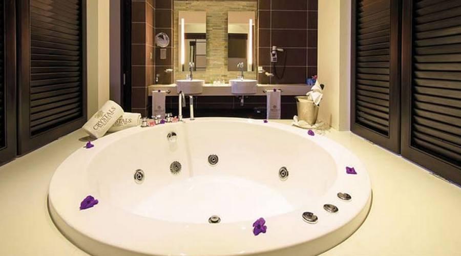 Il bagno della Junior Suite