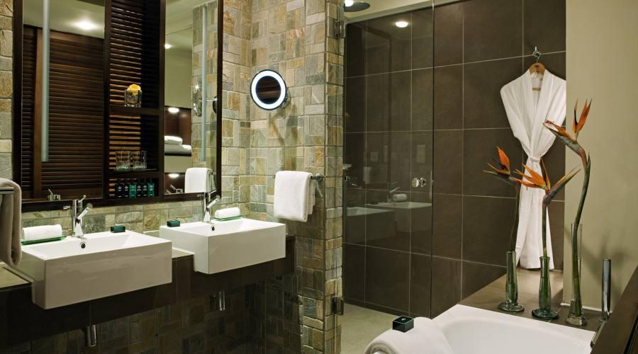 Bagno della camera Luxury