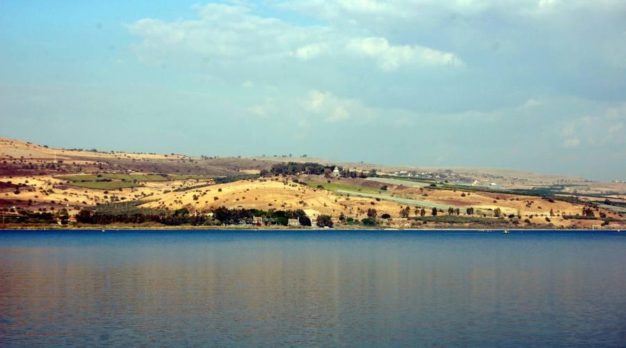 Tiberiade il lago
