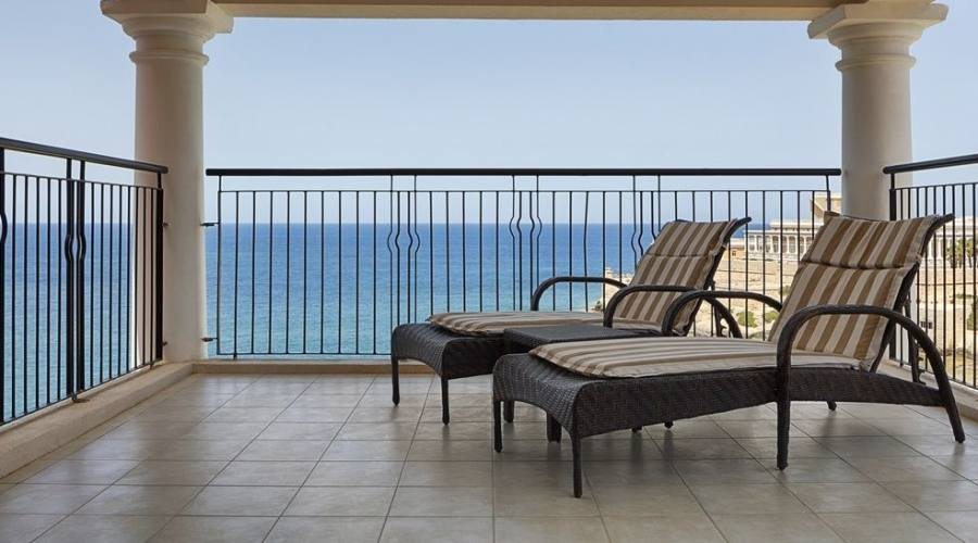 Westin Dragonara: Balcone Camera Vista Mare