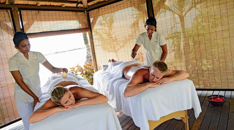 Un rilassante massaggio di coppia alla SPA