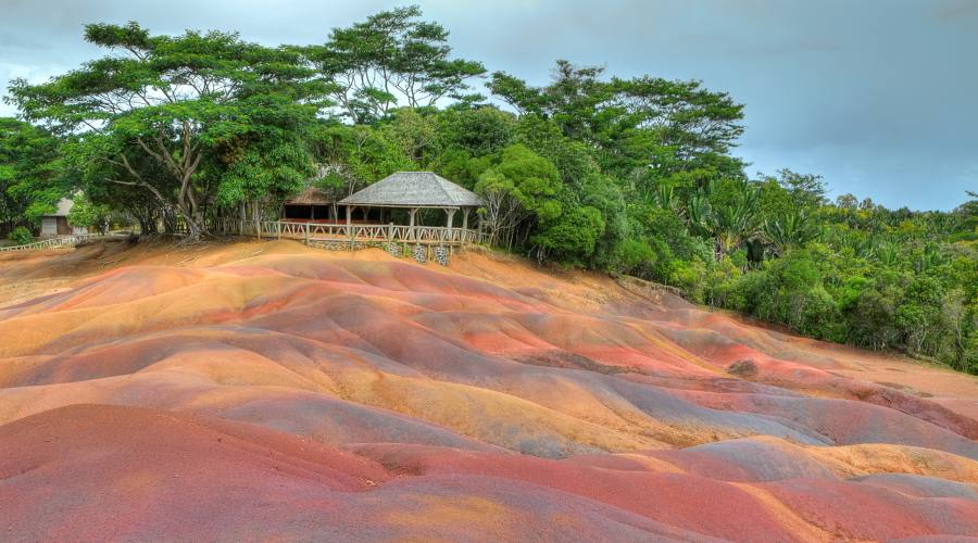 Le terre colorate di Chamarel