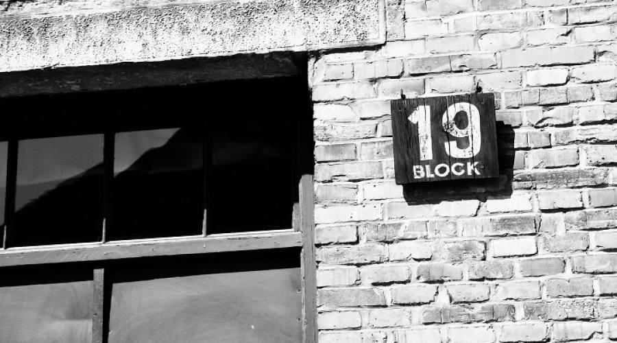 Blocchi ad Auschwitz
