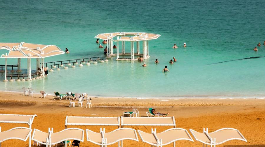 Tour Israele Spiaggia Mar Morto