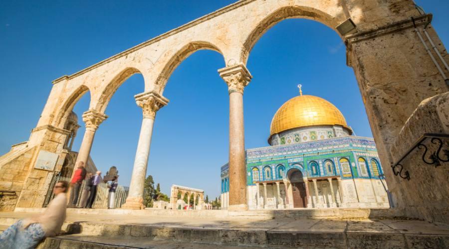 Spianata delle Moschee Gerusalemme
