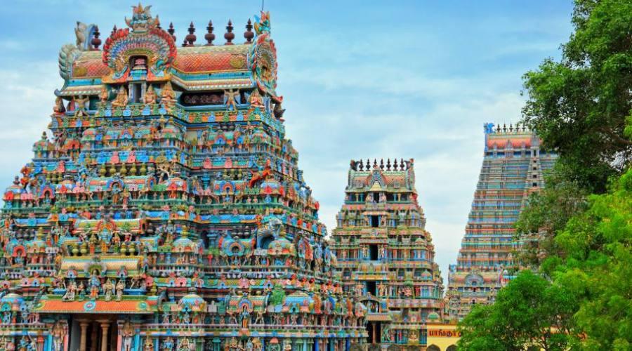Templo en Kerala