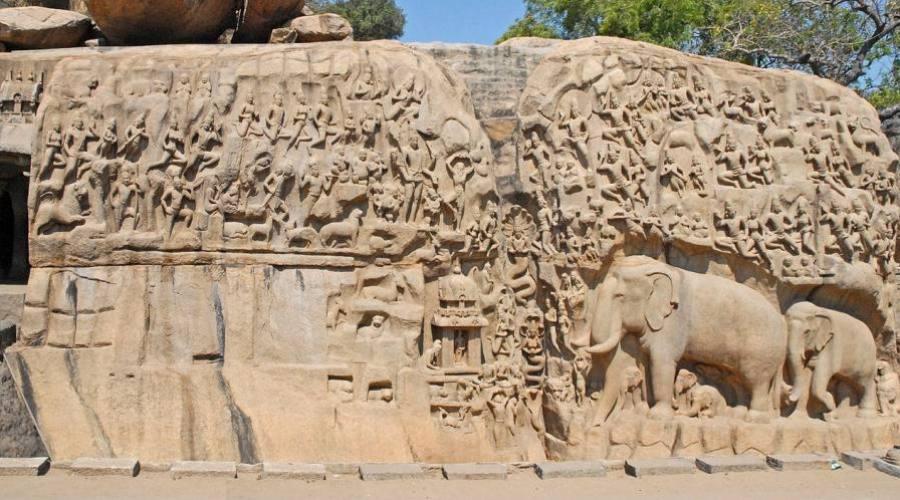 Detalles de un templo