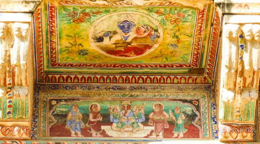 Detalles del templo