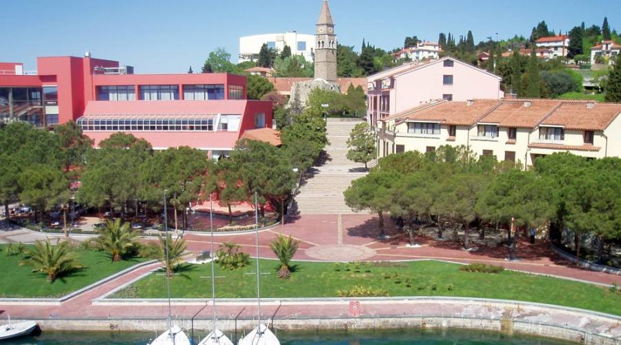 Il complesso Bernardin -panoramica