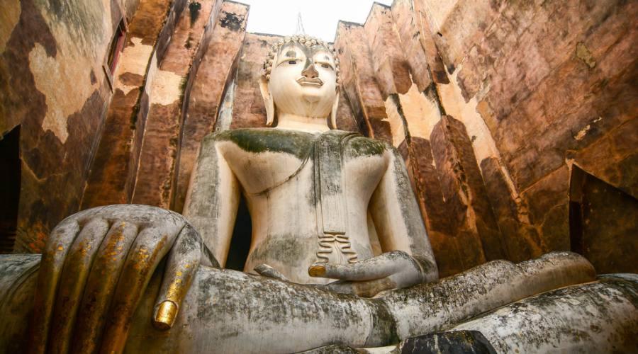 Il Tempio Wat Si Chum a Suckhothai