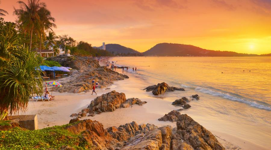 Patong Beach a Phuket