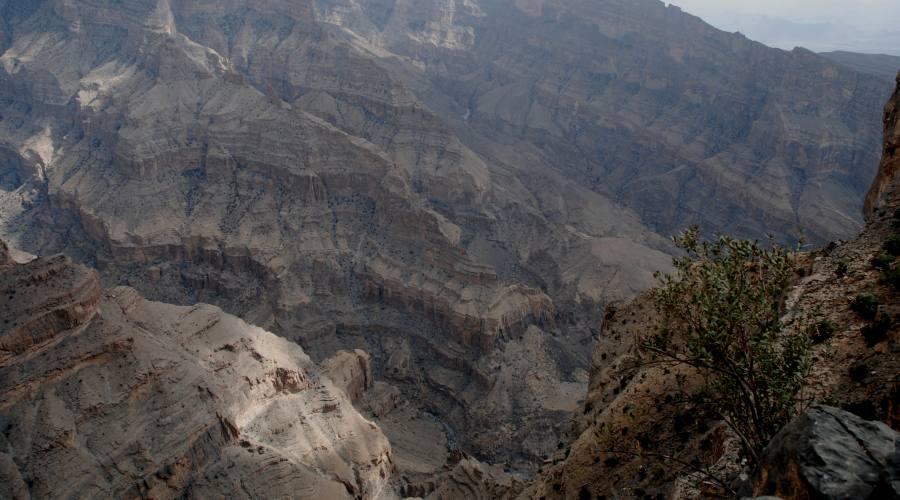 Jabal Shams - il Canyon