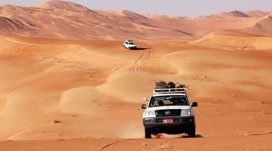 Dune Bashing sulle dune