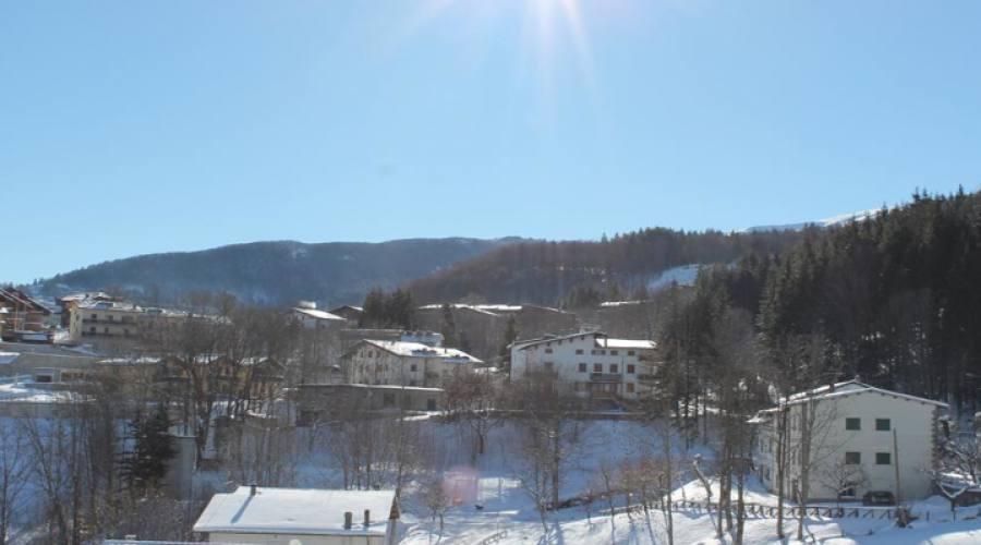 Veduta  invernale di Fiumalbo