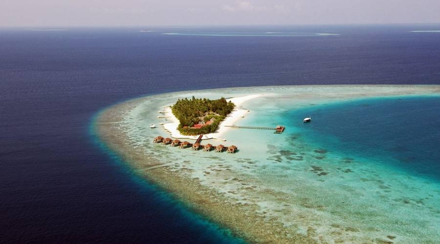 L'isola vista dall'alto