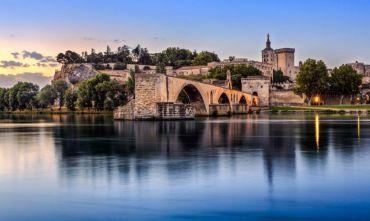 Ponte d'Ognissanti in crociera sul Rodano