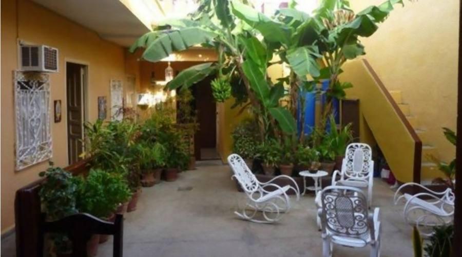 Patio Casa Particular, Trinidad