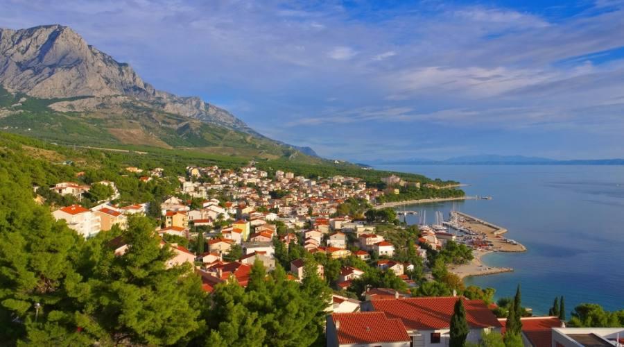 Baska Voda - panoramica