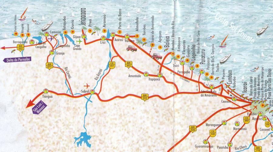 Tour Avventura Brasiliana: itinerario