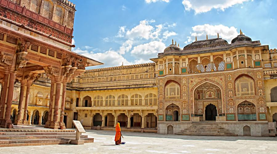 Il Forte Amber di Jaipur