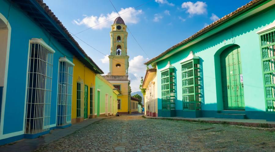 Le caratteristiche case di Trinidad