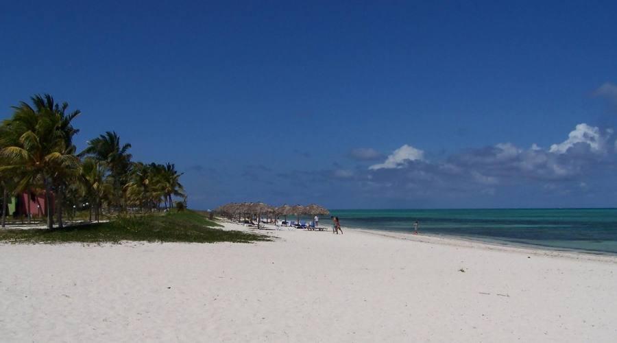 Vista della spiaggia di Santa Lucia