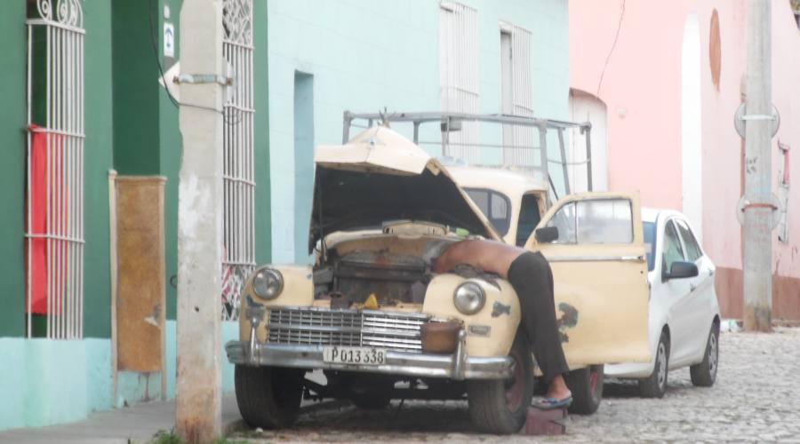 Trinidad, auto d'epoca