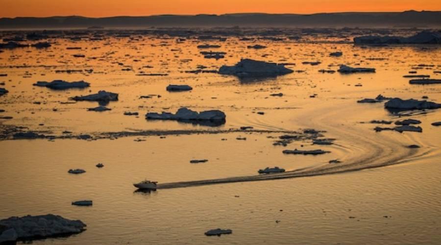 Navigazione tra gli iceberg