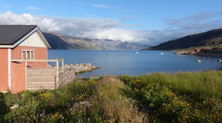 Tipica casa Groenlandese