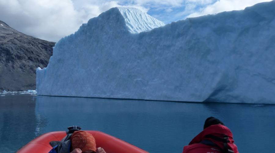 Navigazioni vicino ai ghiacciai